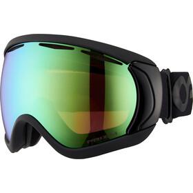 Oakley Canopy Snow Goggles factory pilot blackout/prizm jade iridium